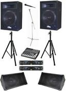 4000 Watt Speakers