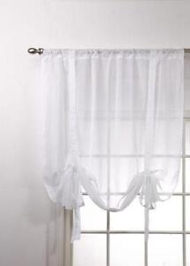 Striped Window Valance