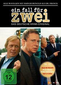 31 DVDs +BONUS * EIN FALL FÜR ZWEI BOX - ALLE FOLGEN MIT RAINER HUNOLD # NEU OVP
