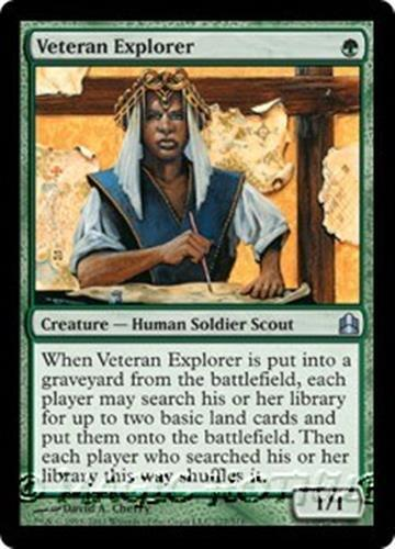 Human Soldier Scout Unc 4 x VETERAN EXPLORER NM mtg Commander 2016 Green