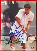 Pete Sampras Autograph