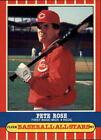 Pete Rose Professional Sports PSA Baseball Cards