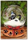Cat Snow Globe