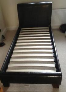 Single Leather Beds Ebay