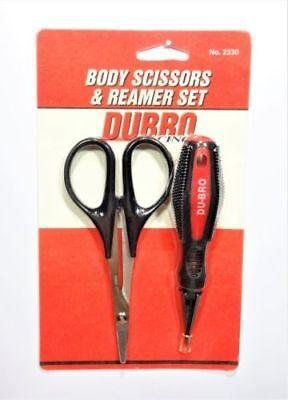Dubro 2330 Body Reamer   Lexan Scissors  Curved  Set Traxxas Hpi Associated Losi