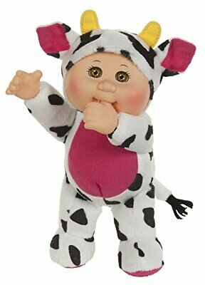 Baby In Cow Costume (CABBAGE PATCH KIDS Adorable Baby Doll in Cute Cow Costume w/ Fresh Scent)