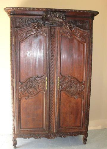 Antique French Armoire Ebay