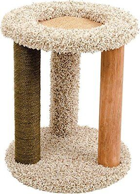 WARE DOG/CAT Carpet Playground-N-Lounge Scratch Post ()