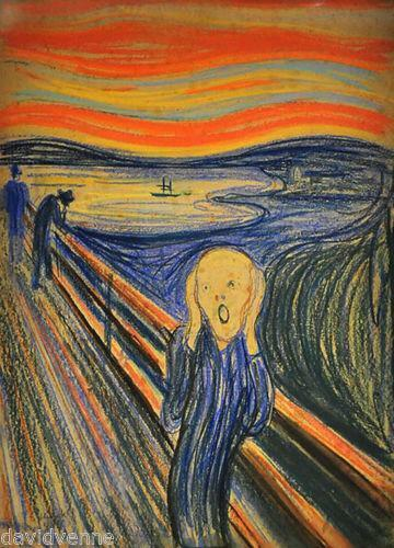 The Scream Painting Ebay