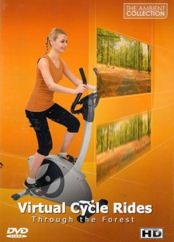 Virtual Cycle Rides - Through The Forest - For Indoor Cyclin