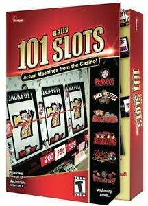 Masque 101 Bally Slots PC Mac New in Box Sealed
