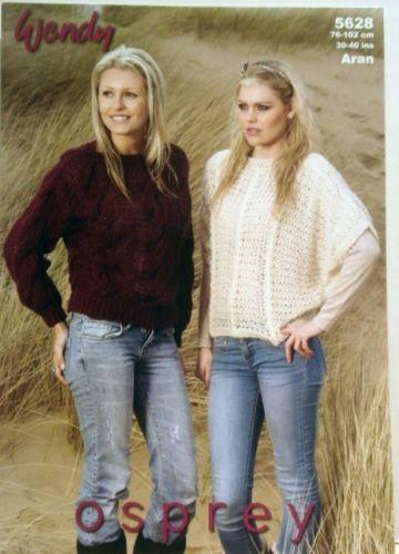 Knitting Pattern Ladies Batwing Ebay