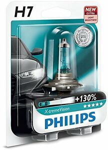 moto 1 ampoule lampe philips h7 x treme vision 12v 55w 130 de lumiere ebay. Black Bedroom Furniture Sets. Home Design Ideas