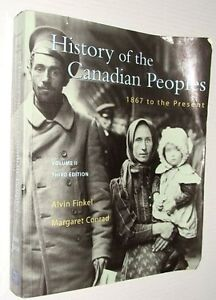 History of the Canadian Peoples-Volume 1 and 2 + more-$5 lot