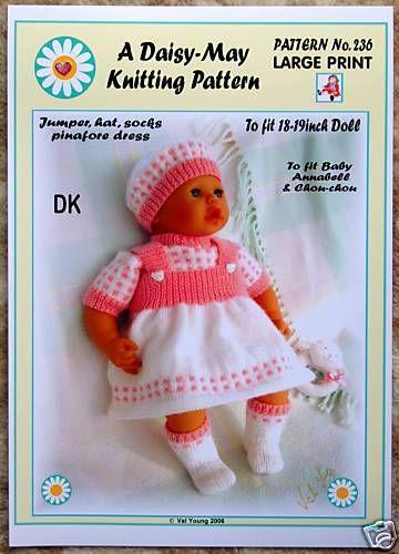 Knitted Dolls Ebay