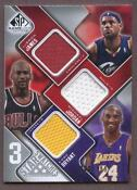 Michael Jordan Game Used Jersey Card