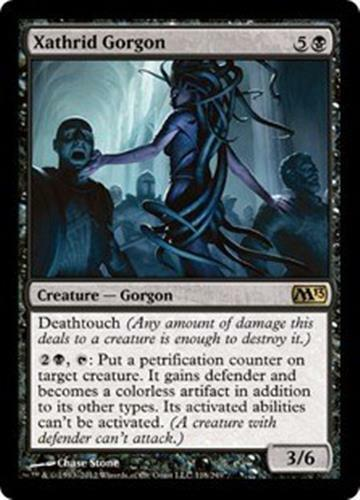 M13 Creature MTG: Xathrid Gorgon Magic the Gathering