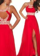 Formal Prom Ball Gown Evening Dress