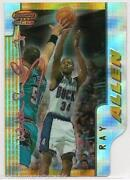 Ray Allen Topps Chrome Refractor