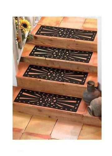 Non slip rubber stair tread ebay - Non skid treads for exterior stairs ...