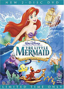 The Little Mermaid DVD Platinum