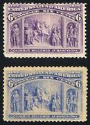US Columbian Stamps