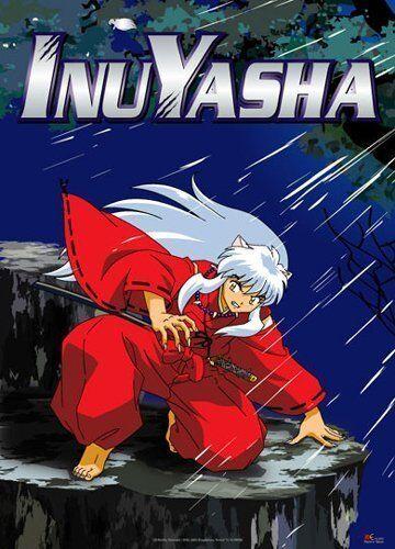*NEW* InuYasha: Inu Yasha Crouching Night Fabric Poster by GE Animation