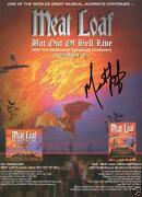 Meat Loaf Signed
