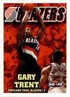 Gary Trent Basketball Trading Cards