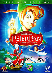 Peter Pan (DVD, 2007, 2-Disc Set, Platinum Edition) BRAND NEW !!