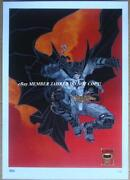 Batman Litho