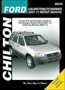 Mazda Tribute Repair Manual