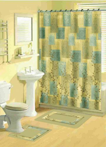 Blue Floral Shower Curtain Ebay