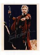 Charlton Heston Signed
