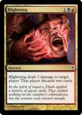 Blightning NM Shards of Alara/Duel Decks MTG Magic The Gathering Gold Eng Card