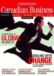 Understanding Canadian Business 5th Edition Book