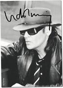 Udo Lindenberg Autogramm