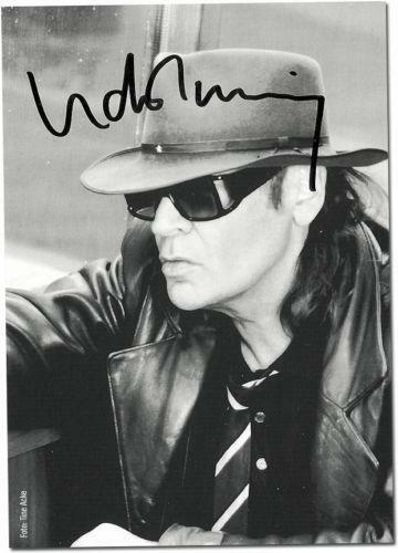 udo lindenberg autogramm ebay. Black Bedroom Furniture Sets. Home Design Ideas