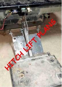 HITCH LIFT PLANS BUILD FOR LOW $ BACK SAVER CARGO TAILGATE LIFT GATE BLUEPRINTS