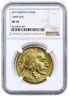 American Buffalo MS 70 NGC .9999 Gold Bullion Coins