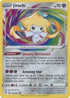 Jirachi  119//185  VIVID VOLTAGE  for Pokemon Card Online TCG Digital