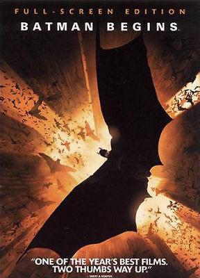 Batman Begins (DVD, 2005, Full Frame) - Disc Only