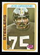 Joe Greene Football Card