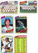 1980 Topps Baseball Lot