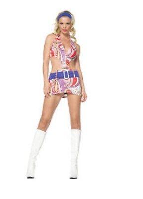 Leg Avenue Vintage Paisley Print Dress Adult Womens - Leg Avenue Vintage Kostüm