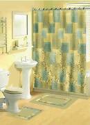 Blue Shower Curtain Hooks