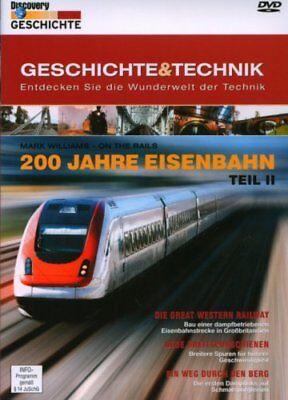 200 Jahre Eisenbahn Teil 2 - Mark Williams - On The Rail ( Doku ) NEU