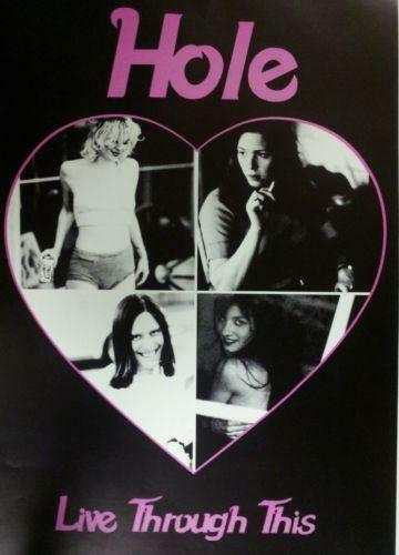 Hole courtney love music memorabilia ebay