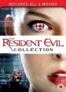 Resident Evil: 1-4 Collection (Box Set) [DVD]