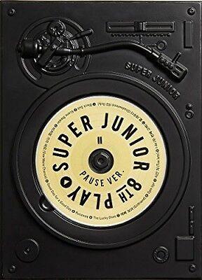 Super Junior   Vol 8  Play  Pause Version  New Cd  Asia   Import